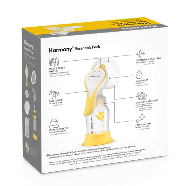 Medela-Harmony-Flex-Essential-Pack-pakiranje-straznja-strana-medela-hrvatska