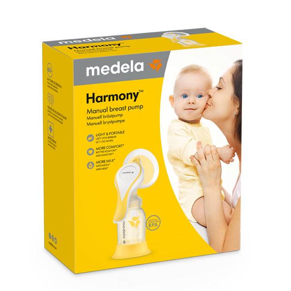 Medela-Harmony-flex-rucna-izdajalica-s-dvofaznom-tehnologijom-pakiranje-prednja-strana-medela-hrvatska