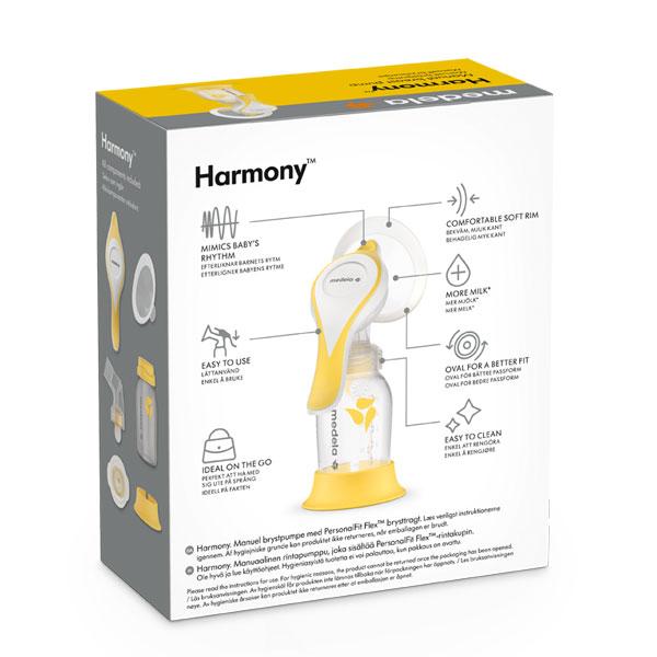 Medela-Harmony-flex-rucna-izdajalica-s-dvofaznom-tehnologijom-pakiranje-straznja-strana-medela-hrvatska